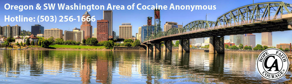 Oregon & SW Washington Area of Cocaine Anonymous
