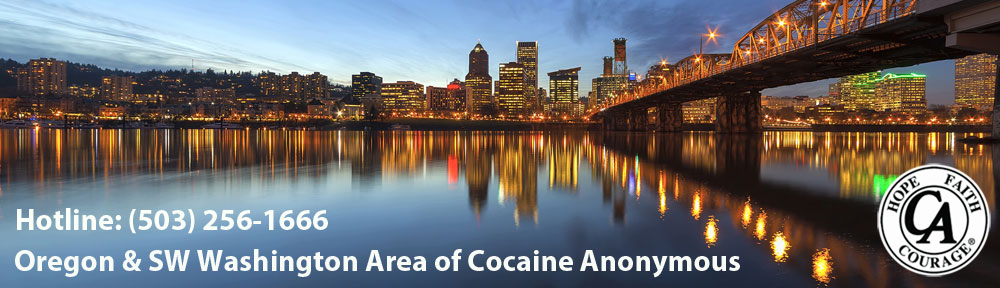 Oregon & SW Washington Area of Cocaine Anonymous